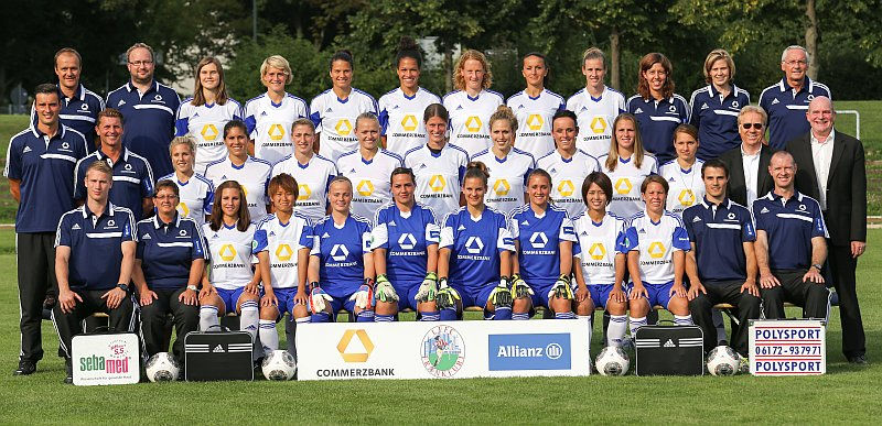 1. FFC Frankfurt: Team-Shooting 2013/14, 29.08.2013