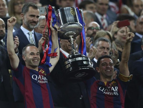 Iniesta Xavi Copa