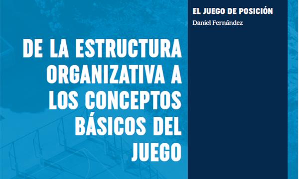 El juego de posición: De la estructura organizativa a los conceptos básicos del juego