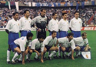Once inicial de la final contra el Arsenal