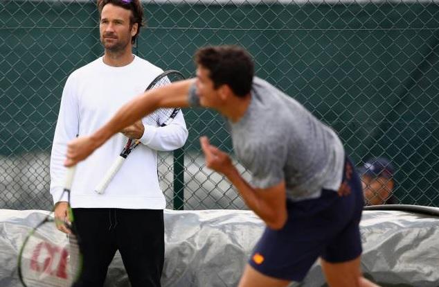 Carlos Moyá y la figura del supercoach en el tenis de élite
