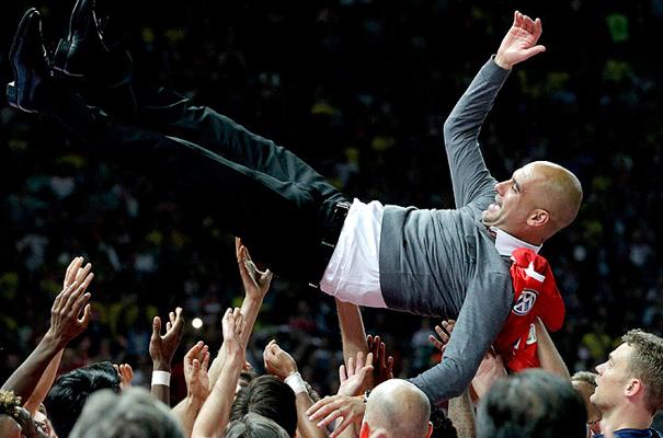 Guardiola. Auf Wiedersehen & Welcome
