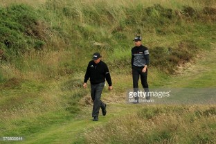 xxxx during the final round on day four of the 145th Open Championship at Royal Troon on July 17, 2016 in Troon, Scotland.