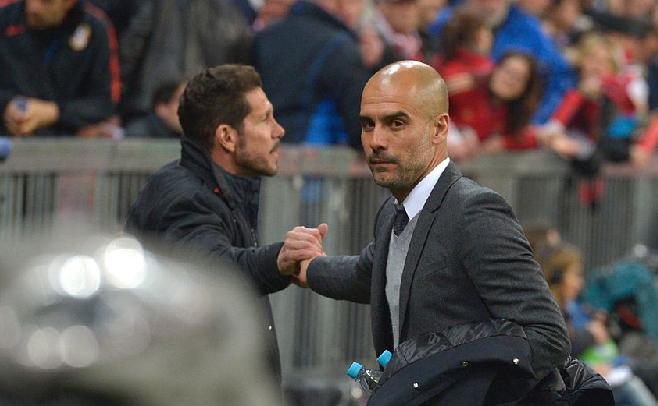 Guardiola y Simeone