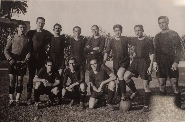 De izquierda a derecha, en la fila superior: Nogués, Berkessy y Vantolrà. Debajo, Morera.