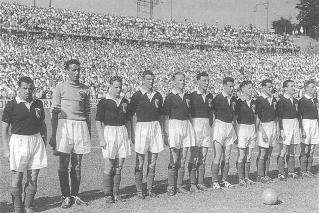 Resultado de imagen para uruguay suiza 54
