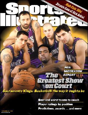 Los Sacramento Kings llenaron muchas portadas con su juego