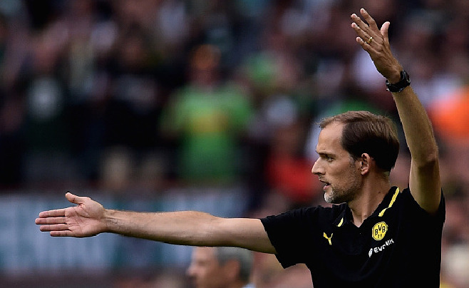 Borussia Dortmund. Thomas Tuchel Debut Bundesliga